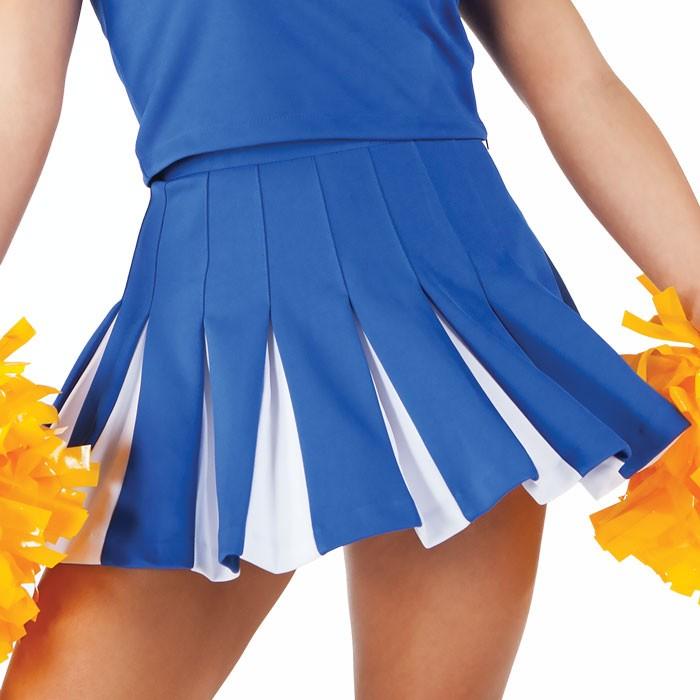 87b4be6430c Cheer Fantastic Solid 16 pleat uniform cheer skirt